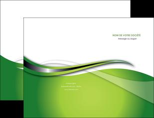creation graphique en ligne pochette a rabat web design vert fond vert verte MLGI73067