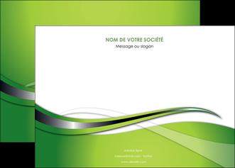 imprimer affiche web design vert fond vert verte MLGI73075