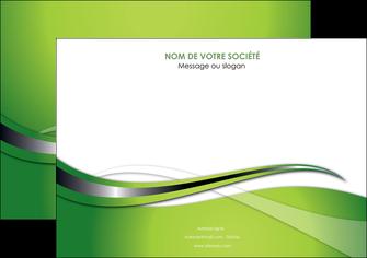 faire modele a imprimer affiche web design vert fond vert verte MLGI73077