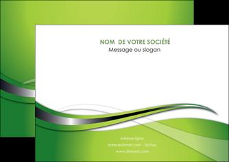 realiser flyers web design vert fond vert verte MLGI73083