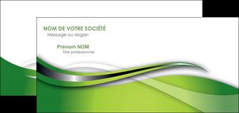 faire carte de correspondance web design vert fond vert verte MLGI73093