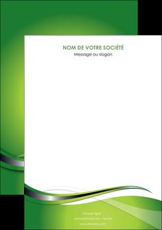 impression affiche web design vert fond vert verte MLGI73097