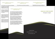 imprimerie depliant 3 volets  6 pages  web design noir fond noir image de fond MLGI73133