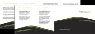 personnaliser modele de depliant 4 volets  8 pages  web design noir fond noir image de fond MLGI73151