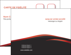 modele carte de visite web design noir fond noir image de fond MIF73221