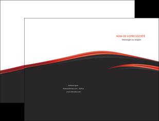 exemple pochette a rabat web design noir fond noir image de fond MIF73223