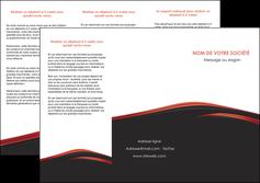 creation graphique en ligne depliant 3 volets  6 pages  web design noir fond noir image de fond MLIP73237