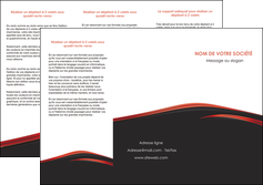 creation graphique en ligne depliant 3 volets  6 pages  web design noir fond noir image de fond MIF73237