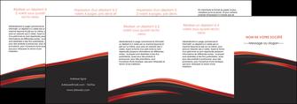 imprimerie depliant 4 volets  8 pages  web design noir fond noir image de fond MLIP73261