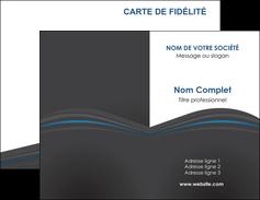 realiser carte de visite web design gris fond gris fond gris metallise MIF73325