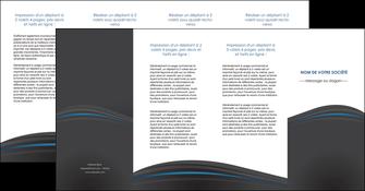 personnaliser modele de depliant 4 volets  8 pages  web design gris fond gris fond gris metallise MIF73363