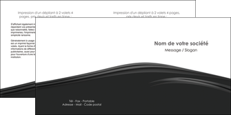 imprimer depliant 2 volets  4 pages  web design gris fond gris metal MLGI73505