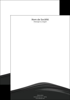personnaliser modele de tete de lettre web design gris fond gris metal MLGI73507