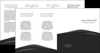 personnaliser modele de depliant 4 volets  8 pages  web design gris fond gris metal MLGI73521