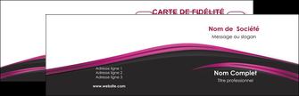 Commander Faire une carte de visite  Carte commerciale de fidélité papier publicitaire et imprimerie Carte de visite Double - Paysage