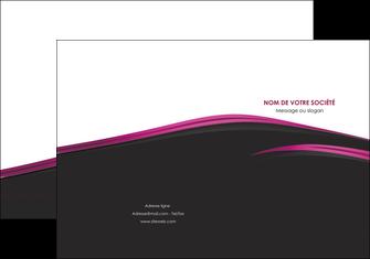 creer modele en ligne pochette a rabat noir fond noir image de fond MLGI73541
