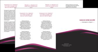 modele en ligne depliant 4 volets  8 pages  noir fond noir image de fond MLGI73573