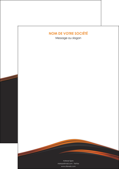imprimerie affiche web design gris fond gris orange MLGI73581