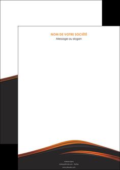 realiser affiche web design gris fond gris orange MLGI73583