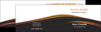 maquette en ligne a personnaliser carte de visite web design gris fond gris orange MLGI73587