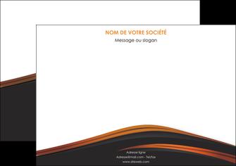 modele affiche web design gris fond gris orange MLGI73599