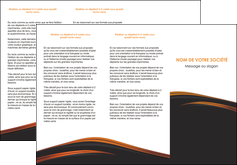 faire modele a imprimer depliant 3 volets  6 pages  web design gris fond gris orange MLGI73605