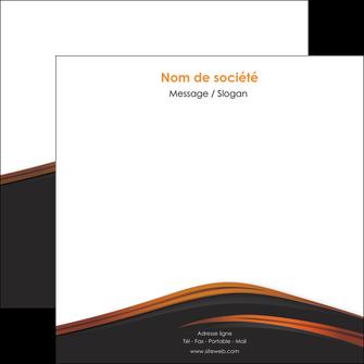 personnaliser modele de flyers web design gris fond gris orange MLGI73613