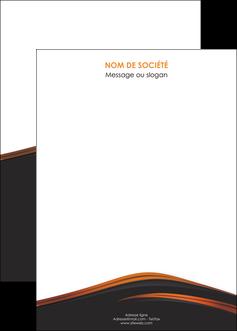 personnaliser modele de affiche web design gris fond gris orange MLGI73623