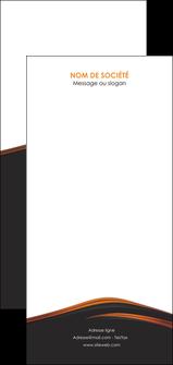 creer modele en ligne flyers web design gris fond gris orange MLGI73629