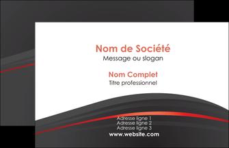 Commander papier impression carte de visite pelliculage Web Design modèle graphique pour devis d'imprimeur Carte de Visite - Paysage