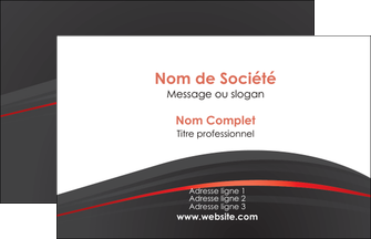 impression carte de visite web design gris fond gris gris metallise MLIG73947