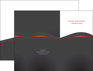 imprimer pochette a rabat web design gris fond gris gris metallise MLGI73959