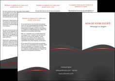 imprimer depliant 3 volets  6 pages  web design gris fond gris gris metallise MLIG73973