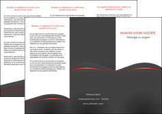 imprimer depliant 3 volets  6 pages  web design gris fond gris gris metallise MLGI73973