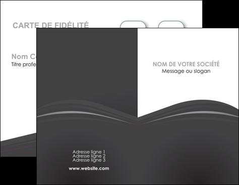 Creer Modele En Ligne Carte De Visite Restaurant Menu Noir Blanc MLGI74009