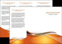 personnaliser modele de depliant 3 volets  6 pages  web design texture contexture structure MLGI74181