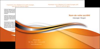 personnaliser modele de depliant 2 volets  4 pages  web design texture contexture structure MLGI74185
