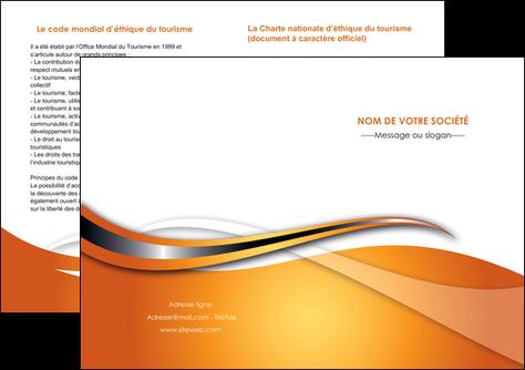 creation graphique en ligne depliant 2 volets  4 pages  web design texture contexture structure MLGI74195