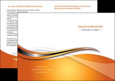 creation graphique en ligne depliant 2 volets  4 pages  web design texture contexture structure MLIG74195