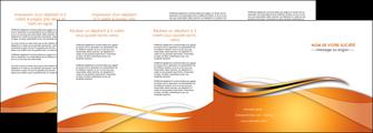 modele depliant 4 volets  8 pages  web design texture contexture structure MLGI74199