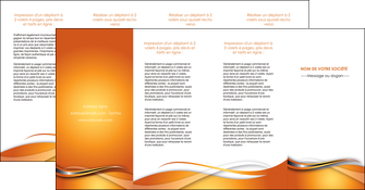 maquette en ligne a personnaliser depliant 4 volets  8 pages  web design texture contexture structure MLGI74203