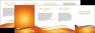 realiser depliant 4 volets  8 pages  web design texture contexture structure MLGI74205
