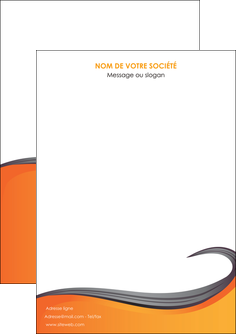 imprimerie flyers orange fond orange couleur MIF74435