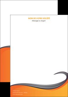 faire modele a imprimer affiche orange fond orange couleur MIF74439
