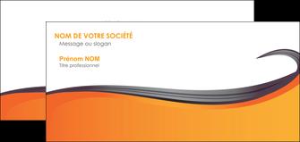 modele carte de correspondance orange fond orange couleur MIF74471
