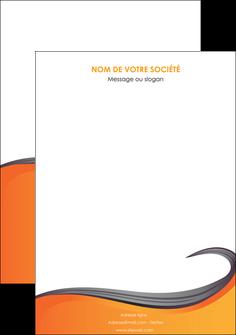 modele en ligne affiche orange fond orange couleur MIF74475