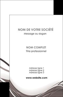 Commander carte menu impression Web Design modèle graphique pour devis d'imprimeur Carte de visite - Portrait