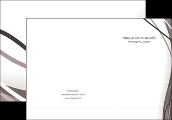 imprimerie pochette a rabat web design gris fond gris abstrait MLGI74567