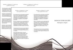 impression depliant 3 volets  6 pages  web design gris fond gris abstrait MLGI74579