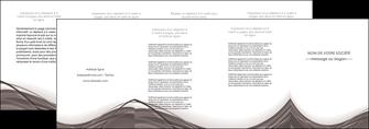 imprimerie depliant 4 volets  8 pages  web design gris fond gris abstrait MLGI74595
